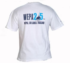 WEPA 25th Anniversary Shirt